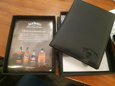 jack daniels travel passport holder in box - like a big wallet