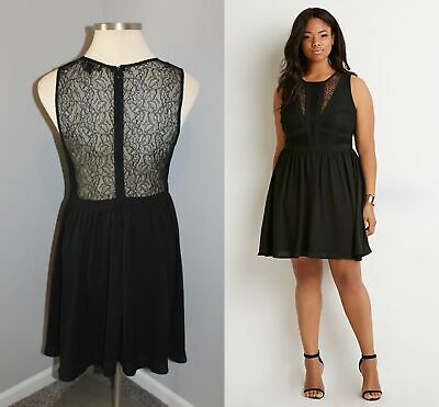 FOREVER 21+ PLUS Size Cream Lace Dress - Size 2X - $28.99 ...