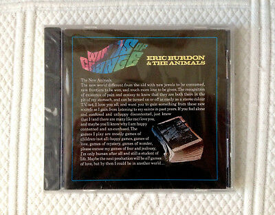 ERIC BURDON & THE ANIMALS  Winds Of  Change  CD   OOP  One Way   NEW & SEALED