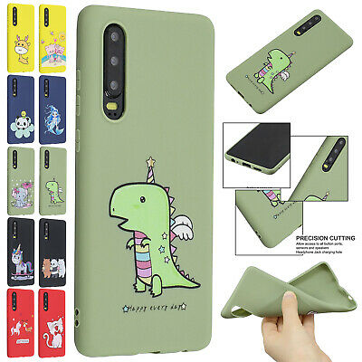 For Huawei P Smart 2019 Case P30 Pro Mate 20 Lite Cute Soft TPU Ultra Slim Cover