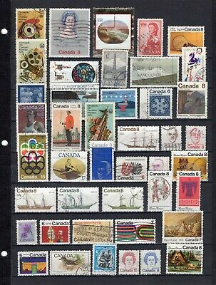 Canada - Used Lot Of (43) Stamps - Lot9.