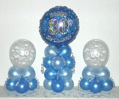 TABLE DECORATION No Helium Needed 15th BIRTHDAY 3 PACK  FOIL BALLOON DISPLAY