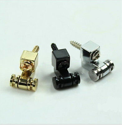 2 x ELECTRIC GUITAR ROLLER STRING RETAINERS MOUNTING TREE GUIDES - (500)