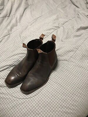d26d4e6fe15 R M WILLIAMS mens comfort fit size 8 brown boots - $200.00 | PicClick AU