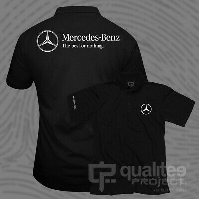 New Mercedes The Best Or Nothing Amg Short Sleeve Polo Shirt