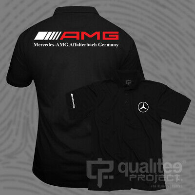 New Mercedes Amg Affalterbach Germany Short Sleeve Polo Shirt