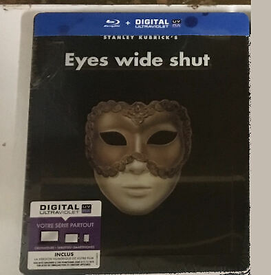 Eyes Wide Shut (Edición FR) Steelbook BLURAY - Nuevo precintado