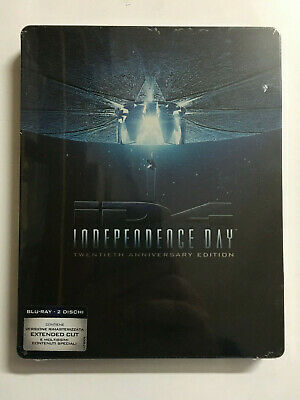 Independence Day Steelbook BLURAY IT
