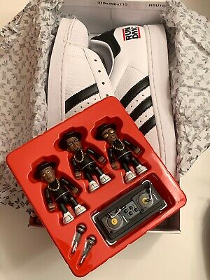 the latest crazy price great quality 05 ADIDAS 35TH Anniversary Superstar RUN DMC JMJ 10.5 & Men ...