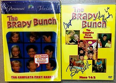 Barry Williams SIGNED/AUTOGRAPHED The Brady Bunch ~ Season 1 ~ 4-DISC DVD SET