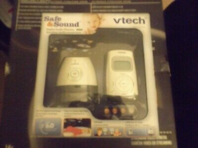 Vtech Safe And Sound Baby Monitor Open Box