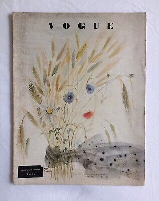 VOGUE (July 1948) French Edition