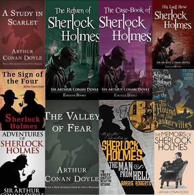 Sherlock Holmes Complete 81-Audiobook Collection (MP3) 📧⚡Email Delivery(10s)⚡📧
