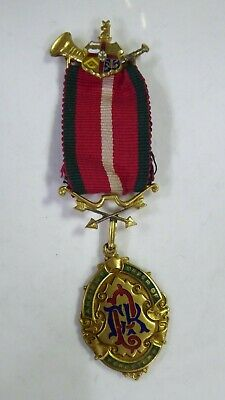 Ancient Order Of Foresters  Masonsic Medal - Swan & Hudson Frankston