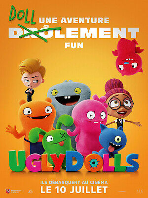 2 Places De Cinema Pour Uglydolls