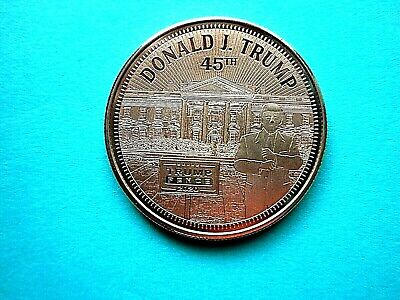 Trump  'The White House' With 2020 Rally Sign 1oz Copper Round