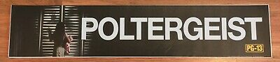 Poltergeist - Movie Theater Poster / Mylar LARGE Vers - 5x25