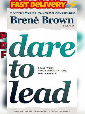 Dare to Lead: Brave Work. Tough Conversations.[fast delivery ₱ḊF EBO*K]Free ship