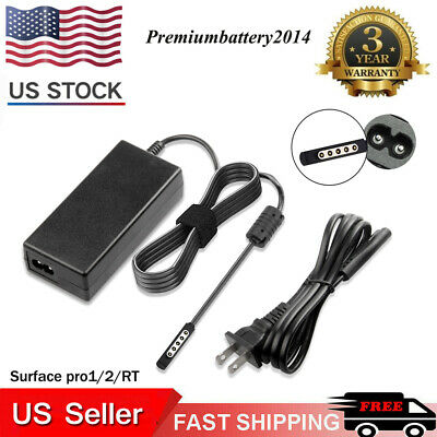 13//36//65//24//48W AC Adapter Power Charger For Microsoft Surface 1 2 3 PRO 1 2 3 4