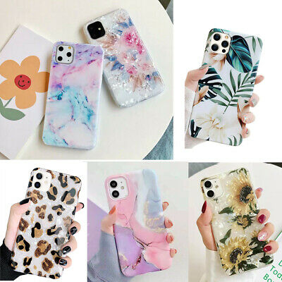 F Iphone 11 Pro Max 8 7 6S XS XR X Shockproof Flower Cute Girls Women Case Cover