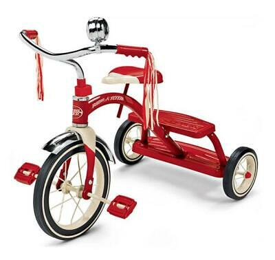 Radio Flyer - Classic Red Dual Deck Tricycle 12in Wheel Steel Genuine Retro NEW