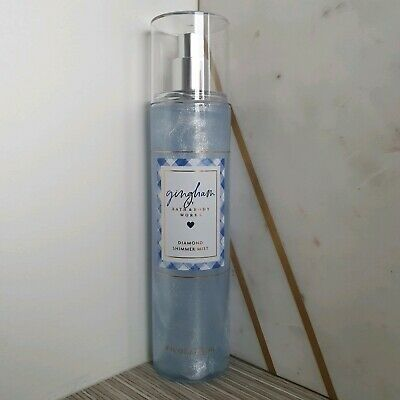 Bath & Body Works Gingham Fragrance Diamond Shimmer Mist + Free Shipping