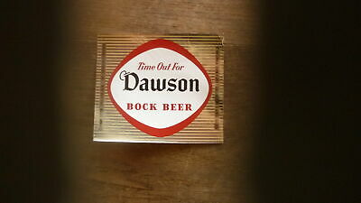 Old Usa Beer Label, Dawson Brewery New Bedford Massachusetts, 1 Pint Bock Beer