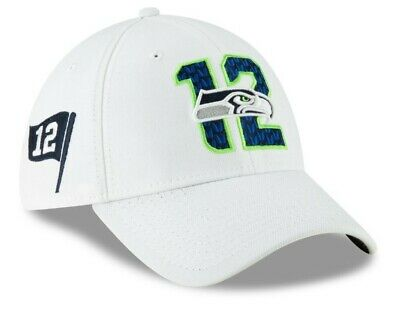 Seattle Seahawks New Era 2019 NFL Draft On-Stage Official 39THIRTY Flex Hat S/M