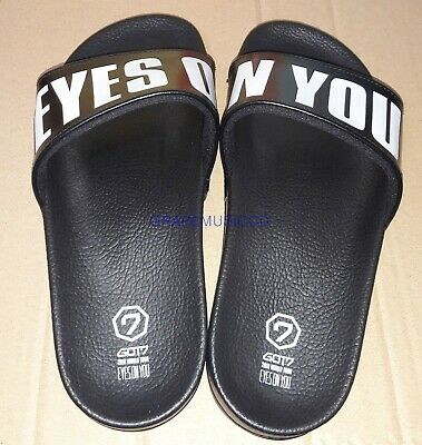 Got7 2018 World Tour Eyes On You Official Goods Slipper M Size New
