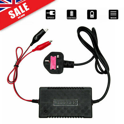 New Intelligent 12V Motorcycle Motorbike Battery Charger Automatic Smart Trickle