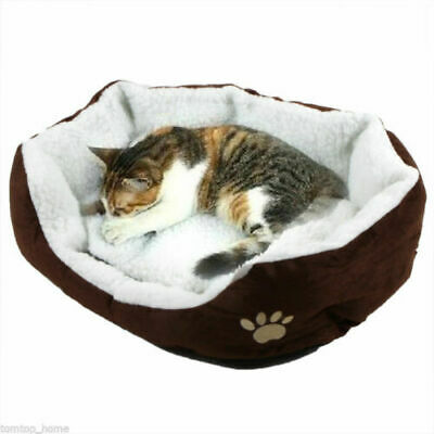 Indoor Pet Dog Cat Bed Puppy Cushion House Soft Warm Kennel Mat Blanket  /Washed