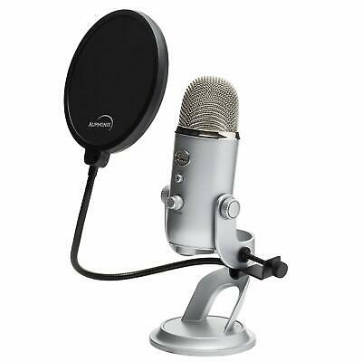 Pop Filter For Blue Yeti Microphone