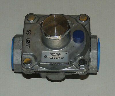 Maxitrol Regulator R47CL 1/2 inch Inlet - Outlet NG & LP Gas Pressure 4 - 11