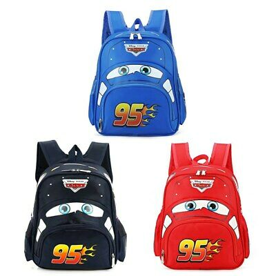 Girls Boy Kids Cars Shape Large Zipper School Backpack 3D Shape Cool Book Bags*