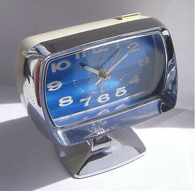 Vintage - Retro - Coramatic - Electro-Mechanical - Space Age - Clock