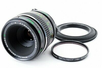 Mamiya Sekor C 80mm F4 Macro Lens for M645 from Japan [Exc++] #80111A
