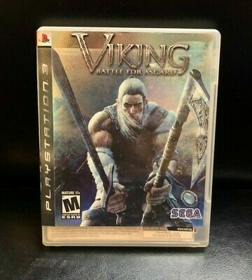 VIKING : BATTLE FOR ASGARD (Sony PlayStation 3, 2008) PS3 COMPLETE
