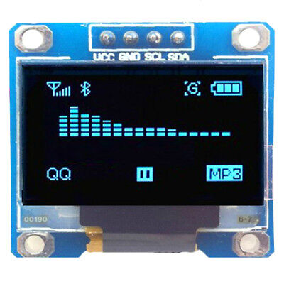 "1.3"" OLED LCD Display Module IIC I2C Interface 128x64 3-5V For Arduino FES"