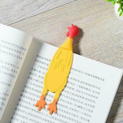 Personalized Silicone Screaming Chicken bookmark Gift Gift Souvenirs Cute P W8H2