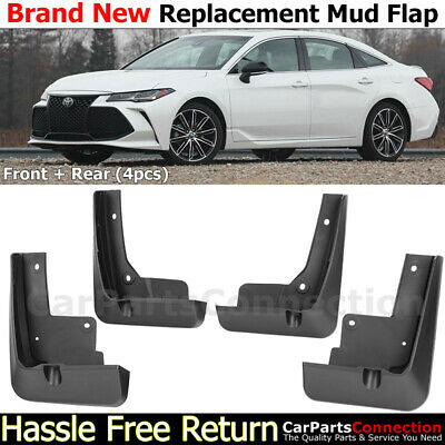 FRONT REAR MUD Flaps Splash Guards For 18-19+ Toyota Sienna