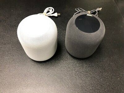 Apple HomePod Bluetooth Smart Speaker - Space Gray or White - Choose Your Color