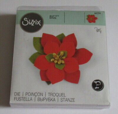 Sizzix Bigz Die Build a Bloom, Poinsettia - Pete Hughes - 661294 - Please Read.