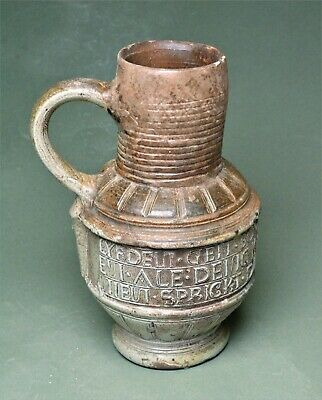 Rare Dutch flagon with inscription. 8903
