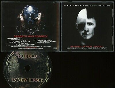Black Sabbath Robbed In New Jersey CD live 2004 Judas Priest Ozzy ill, Rob sang