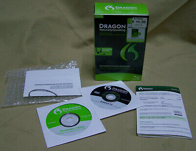 Nuance Dragon Naturally Speaking Version 12 Basics DISC ONLY,  NO HEADPHONE/MIC