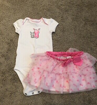 NEW Baby Girl Carters First Easter One Piece Some Bunny  Love Sizes NB thru 12M