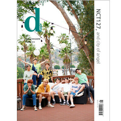 NCT127 and City of Angel D-icon Magazine vol.5 Official Photo Book NCT Dicon