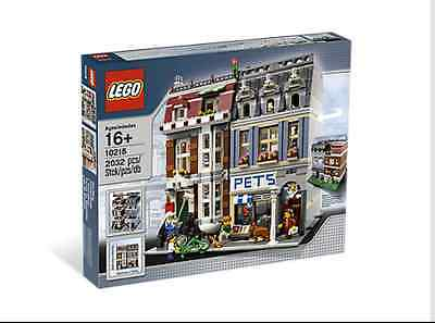 Lego Pet Shop 10218 Modular **RETIRED**  Brand New in Sealed Box