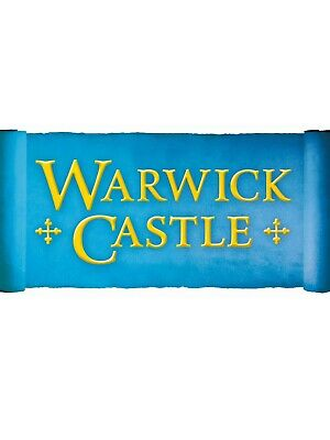 Warwick Castle E/Tickets x2 Valid On Friday 18th October 2019