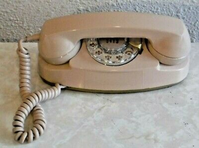 Western Electric Bell System Princess Phone Painted Brilliant Beige in Color